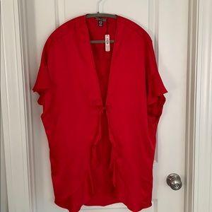Victoria's Secrer NWT red robe